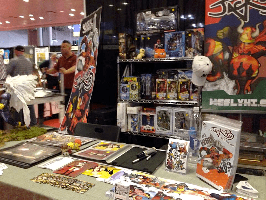 NYCC-Booth